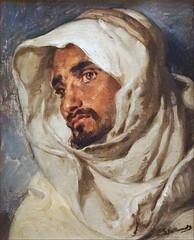 Portrait d'homme de G. Guillaumet (Musée La Piscine, Roubaix) (dalbera) Tags: dalbera roubaix france lapiscine musée exposition gustaveguillaumet algérie arabe orientalisme portrait