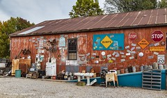 Oklahoma Collectibles (Kool Cats Photography over 11 Million Views) Tags: junk wall shop oklahoma collectibles collectables artifacts historic antique architecture