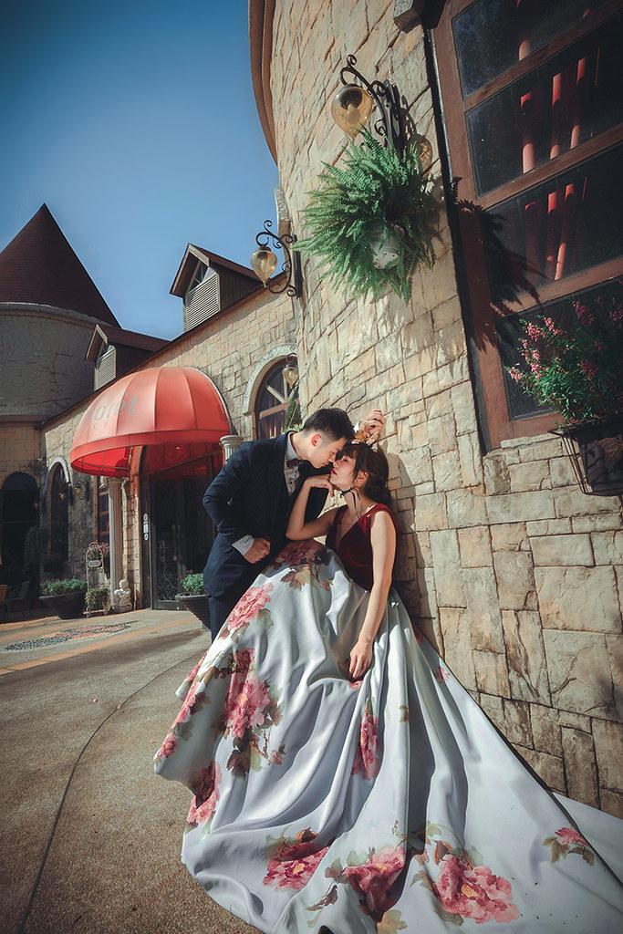 地中海風格,城堡,莊園,婚紗