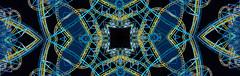 kaleidoscopic roller coaster (pbo31) Tags: kaleidoscopic pattern night black november 2018 kalidoscope boury pbo31 color california abstract beach boardwalk santacruz rollercoaster track