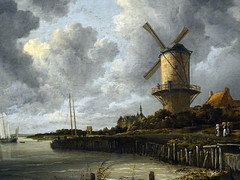 The windmill near Wijk bij Duurstede / Jacob isaackz van Ruisdael (Beyond the grave) Tags: art thewindmillnearwijkbijduurstede jacobisaackzvanruisdael ruisdaeljacobisaackzvan rijksmuseum amsterdam netherlands holland painting