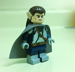 Celebrimbor (Maethorneth) Tags: lego lordoftherings legolordoftherings elf firstage minifigure customminifigure