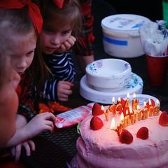 Thinking (redhorse5.0) Tags: children birthdaycake party strawberrycake candles icecream redhorse50 sonya850 fun