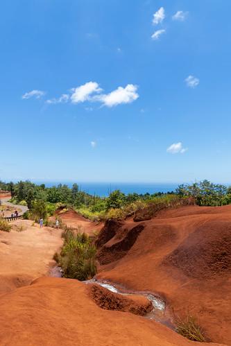 Red river Waimea Canyon State Park Kauai Hawaii