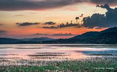 Nice sunset (Ignacio Ferre) Tags: embalsedesantillana santillanareservoir lago lake manzanareselreal madrid españa spain sunset puestadesol anochecer paisaje landscape water agua nikon naturaleza nature