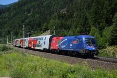 1116 168, SLp 96256, Kolbnitz (M. Kolenig) Tags: 1116 tauernbahn baum gras