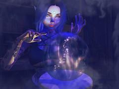 Crystal Ball (Cupcake Zombieface) Tags: magick secondlife witch catwa maitreya bento mesh