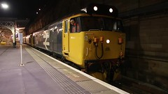 50049 50007 1Z30 (Rob390029) Tags: br british rail class 50 50007 50049 edinburgh waverley railway station edb motion departure video canon