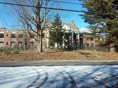 Haunted Hospital. (RED GATES.) Tags: hospital haunted old saratoga county home stead