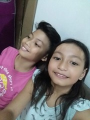 Jam and I, sofa photos :) (ghostgirl_Annver) Tags: asia asian annver girl boy brother sister daughter son family teens kids children sofa