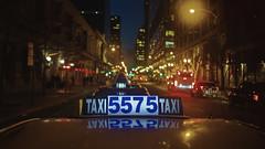 🚕 Taxi 5575 (Jovan Jimenez) Tags: 📷 canon eos m3 efm 22mm f2 stm taxi cab night cinematic bokeh street streetphotography