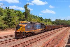 Vale S.A. Estrada de Ferro Carajás. (Cristiano Oliveira.) Tags: dash 9 mrs tfpm vale carajás
