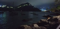 Night jogging at the beach (yiwa) Tags: night beach hongkong