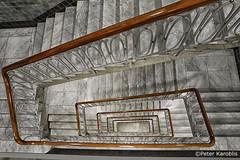 Hamburg Esplanadebau (peterkaroblis) Tags: hamburg treppenhaus staircase haus house building gebäude innenansicht architektur architecture interiordesign innenarchitektur interieur interiorarchitecture lines curves linesandcurves geometry geometrie