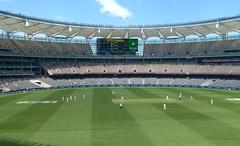 (348/365) Friday December 14th (philk_56) Tags: western australia perth cricket stadium india field ground grass pitch game sport