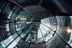 The original Fresnel Lens from the North Head Lighthouse (Krystal.Hamlin) Tags: light lighthouse glass travel architecture ocean maritime washington coastal