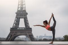 (dimitryroulland) Tags: nikon d750 85mm 18 dimitryroulland balance yoga yogini tour eiffel tower paris france natural light fit sport flexible people flexibility