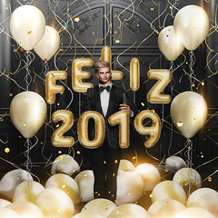 Happy New Year 2019 (Satuex Resident) Tags: happynewyear new year happy 2019 happynewyear2019 newyear2019 angelking angel king secondlife