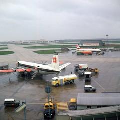London Airport c63 003 (Captain Martini) Tags: gapea vickersvanguard britisheuropeanairways sudaviation caravelle austrianairlines londonairport heathrowairport