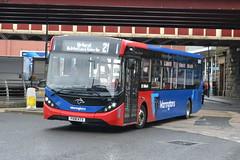 Warrington's Own Buses AD Enviro 200MMC 211 YX18KTV - Warr (dwb transport photos) Tags: warringtonsownbuses alexander dennis enviro 200mmc bus 211 yx18ktv warrington