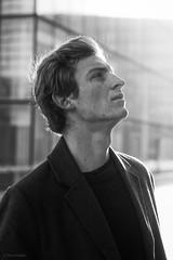 A Man For All Seasons (sdupimages) Tags: monochrome noirblanc noiretblanc blackwhite bw man men homme masculin portrait portraiture nb freckle elegance elegant bg model shooting parisian parisien