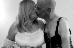Hot Off The Press! (HerandMe2019...Please Read Profile) Tags: wife women woman male man couple older younger mature love lovers kiss costume