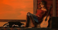 I am a country girl, who was accidentally born in the city. (Aleriah.) Tags: addams avaway blueberry cheekypea collabor88 countrygirl foxcity friday jian pilot secondlife sl truth uber virtualfashion virtualgirls