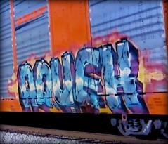 (timetomakethepasta) Tags: advek freight train graffiti art bnsf autorack