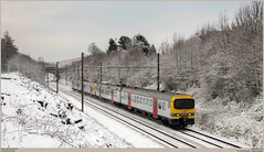 NMBS 922 + 940 @ Halle (Wouter De Haeck) Tags: belgië belgique belgien infrabel l94 halle blandain vlaamsbrabant nmbs sncb am86 ms86 ms8689 bn labrugeoiseetnivelles acec duikbril sprinter strein streinbrussel trains trainsbruxelles s5 mechelen enghien edingen