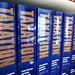 Taxation books stock photo
