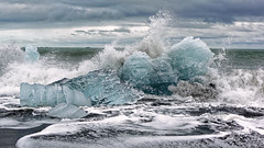 Jökulsárlón (AD2115) Tags: island iceland urlaub vacation sea meer wellen waves gletscher glacier