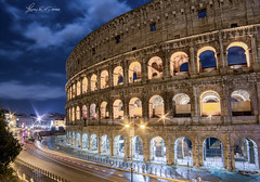 Colosseum.. (lulo92) Tags: colosseo roma architecrture longexpo expo exposition art history story rome city light cart samyang niikon nikon nikonitalia italia lazio