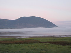 Morning fog (jamica1) Tags: fog mist cloud mountain nature bay shuswap lake salmon arm bc british columbia canada