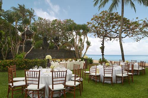 Temple Garden Wedding Reception