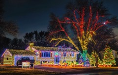 Holiday Cheer (Doug Wallick) Tags: holiday light show burnsville minnesota cheer colorul musical 2018 december christmas house lights spectacle cool beautiful explored explore