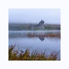 'Kilchurn Castle' (Francis Mridha Photography) Tags: castle clouds francismridhaphotography highlands kilchurncastle landscape loch mist nikon reflection scotland scottishlandscape sky travel uk water westcoast westscotland