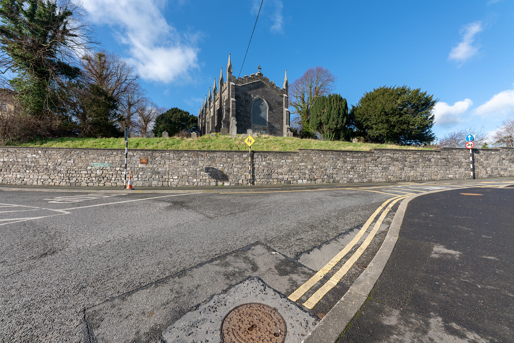 ST COLUMBA'S CHURCH AND GROUNDS IN SWORDS COUNTY DUBLIN [CHURCH ROAD]-148772