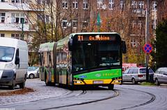 Solaris Urbino 18 IV #1910 (dorian.kowalski) Tags: solaris urbino 18 iv jamnik autobus bus 28czerwca1956r kamienice wilda linia71 linie71 osiedledębina 1910