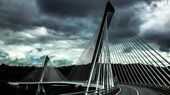 Pont de Terenez (erwancalves) Tags: hdr mabellebretagne bretagnetourisme breizh bzh bretagne pont bridge rosnoen presqu'île crozon terenez
