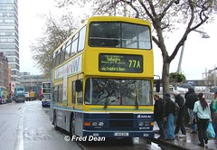 Dublin Bus RA205 (95D205). (Fred Dean Jnr) Tags: april2005 dublin dublinbus busathacliath dublinbusyellowbluelivery volvo olympian alexander r dublinbusroute77a ra205 95d205 edenquaydublin rend eig4331