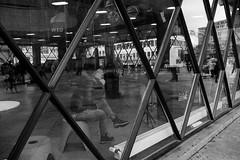 triangular (99streetstylez) Tags: people street streetphotography 99streetstylez fuji fujix100f 28mm monochrome city metropole cologne