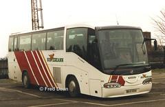 Bus Eireann SI10 (98D10336). (Fred Dean Jnr) Tags: buseireann si10 scania l94 irizar century 98d10336 broadstonedepotdublin february1998 r887sdt a18hlc m77yel