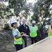 Mayor Garcetti visiting Hire LAX's Apprenticeship Readiness Program