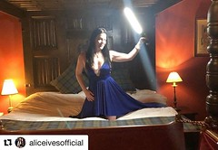 #Repost @aliceivesofficial with @get_repost ・・・ It's not an official vacation unless we do an impromptu photo shoot with an #icelight & a new #viesauvagecouture gown! This time, we're in a castle in Scotland! . . Photographer: @photopersuasion | Gown: @vi (PhotoPersuasion) Tags: photopersuasion dallas photography cosplay