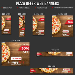 Pizza Offer Web Banner (snap_shiblu) Tags: