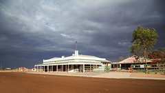 94 IMG_9336 copy (Callags) Tags: pub birdsville sky storm building outback