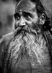 Street Portrait - When you can't control what's happening, challenge yourself to control how you respond to what's happening. That's where your power is. (Louay Henry.) Tags: nikond610 nikon nikonaustralia d610 nikonportrait portraiture portrait streetlife streetphotography india citylife hardlife monochrome beard blackandwhite eyes blackwhite mustache streetportrait people closeup outdoor naturallight candid streetcandid tamron oldman poorman poor strangers character urban tamron70200mmvc tamronsp70200mmf28vcusd candidportrait humanbeing