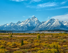 Autumn in the Tetons (Philip Kuntz) Tags: autumn fall fallfoliage jacksonlake grandteton tetons grandtetonnationalpark wyoming lunchtreehill