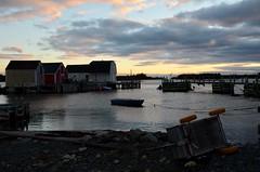 Au petit matin, and the sun is rising (lou shetland) Tags: boat bateau borddemer leverdesoleil sunrise nikon seascape