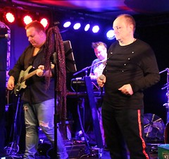 Galahad headlining DanFest at The Musician, Leicester 1st December 2018 (kitmasterbloke) Tags: galahad leicester themusician danfest dannymayo indoor concert gig tour live music band instrument performance